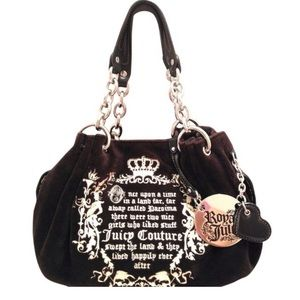 Juicy couture royal once upon a time brown bag